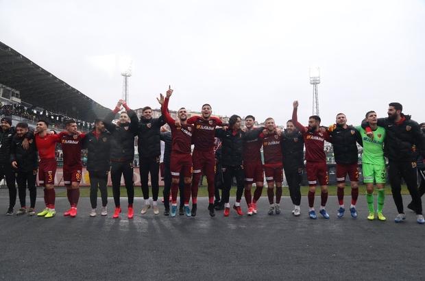 Kayserispor deplasman maçlarını tamamladı