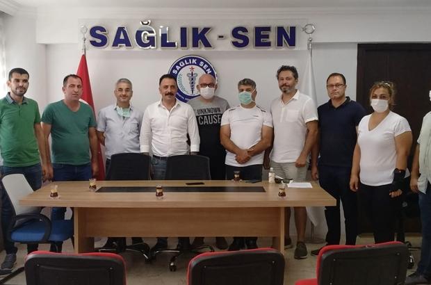 """Sağlık-Sen İzmir 1 No'lu Şube, üye sayısında rekor kırdı Başkan Yıldırım: """"Güçlüyüz ve başaracağız"""""""