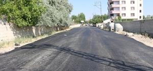 Erciş Belediyesinden yol asfaltlama çalışması