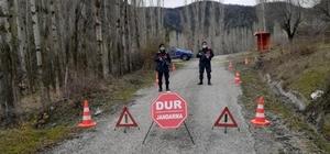 Kargı'da bir köyün mahallesi karantinaya alındı