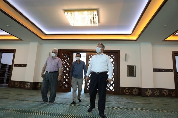 Cavit Yurttaş Cami açılışa hazır
