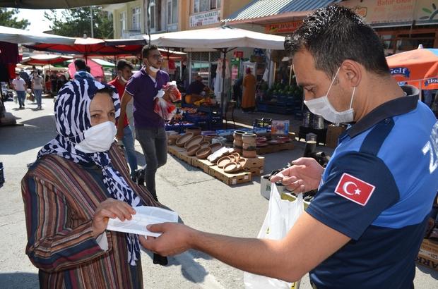 Bünyan'da 'Korona virüsle' mücadele devam ediyor