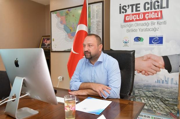 """Çiğli Belediyesinin yeni istihdam projesi """"İş'te Çiğli"""""""