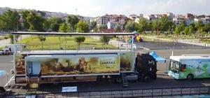 Çanakkale Savaşları Mobil Müzesi Tekirdağ'da