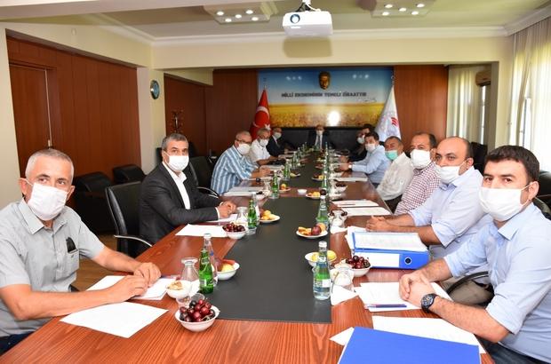 Toprak Koruma Kurulu Toplantısı, Vali Karadeniz başkanlığında yapıldı