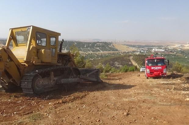 Gaziantep'te örtü yangını Gaziantep'te örtü yangını havadan ve karadan müdahale ile kontrol altına alındı