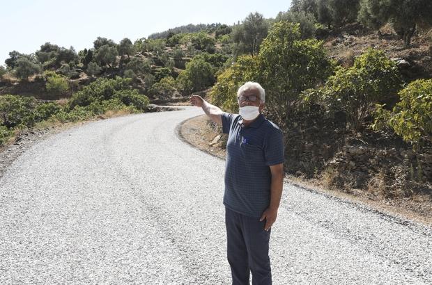 Büyükşehir Eğrikavak-Musluca arasındaki yolu ulaşıma açtı