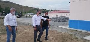 Kağızman Kaymakamı Çınar sahada yapılan çalışmaları denetledi