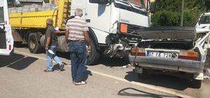 Kastamonu'da otomobil ile tır çarpıştı: 3 ölü