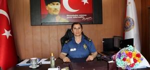 Samandağ Emniyet Müdürü Asuman Karacık göreve başladı
