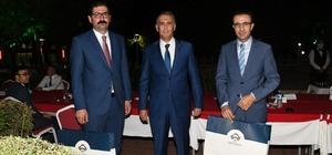 Vali Yardımcısı Ayhan Akpay'a veda yemeği