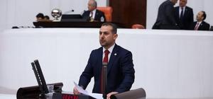 Milletvekili Burhan Çakır, TBMM'de Erzincan'ı konuştu