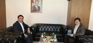 Mutki Kaymakamı Şahin'den BEÜ Rektörüne veda ziyareti