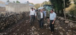 Başkan Ensari, selin yaşandığı mahallelerde incelemelerde bulundu