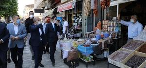 Vali Mahmut Demirtaş, Midyat'ta incelemelerde bulundu