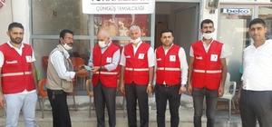 Türk Kızılayı Çüngüş temsilciliği açıldı
