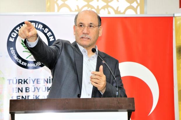"""Adana'da yetkili sendika yeniden Eğitim-Bir-Sen Mehmet Sezer: """"Adana, istikrara ve başarıya devam dedi"""""""