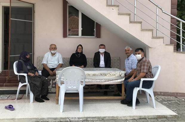 Kıbrıs Barış Harekâtı'nın 46. yıl dönümü Başkan Özdemir'den şehit ailelerine ziyaret
