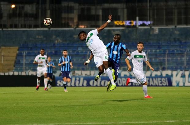 TFF 1. Lig Play-Off Yarı Final: Adana Demirspor: 0 - Bursaspor: 0 (İlk yarı sonucu)
