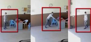 Gaziantep'te gündüz vakti cep telefonu ve motosiklet çalan hırsızları güvenlik kamerası yakalattı