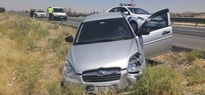Aksaray'da 3 araçlı zincirleme trafik kazası: 4 yaralı