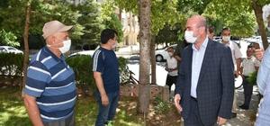 Başkan Pekyatırmacı mahalle ziyaretlerini sürdürüyor