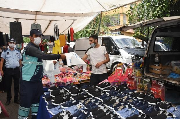Gaziantep'te bayram öncesinde kurban atık poşeti dağıtılıyor
