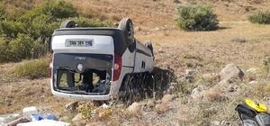 Tunceli'de trafik kazası: 9 yaralı