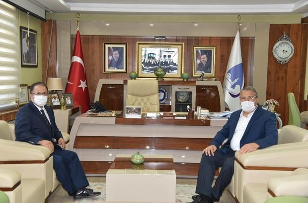Başkan Çerçi Emniyet Müdürü Uslusoy'u ağırladı