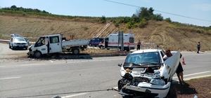 Tekirdağ'da trafik kazası: 3 yaralı