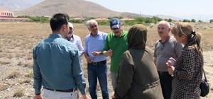 DATÜB heyeti Bayırbağ'da incelemede bulundu
