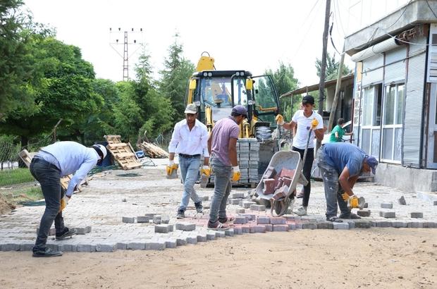 Erciş Belediyesi 12 mahallenin kilitli parke taşı çalışmalarını tamamladı