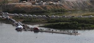 Dicle Nehri'nde kaybolan adamı arama çalışması sürüyor