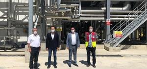Başkan Vidinlioğlu, yanan fabrikayı ziyaret etti