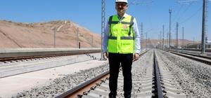 """Bakan Karaismailoğlu: """"Hedefimiz 2023 yılına 3 bin 500 kilometre demir yolu hattı ile girmek"""""""