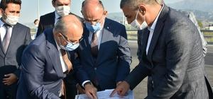 Başkan Kayda, bağlantı yolu konusunda Vali Karadeniz'den destek istedi