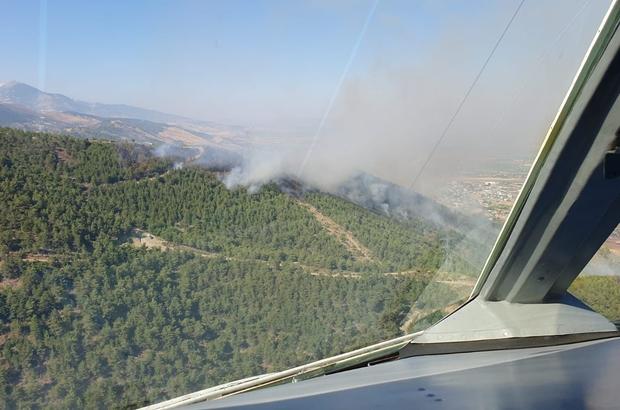 Hatay'daki orman yangını kontrol altına alındı 4 farklı bölgede çıkan orman yangınında 30 hektarlık alan zarar gördü
