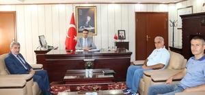 İl Milli Eğitim müdürü Sarı, Kaymakam Akpay'ı ziyaret etti