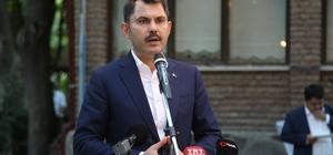 """Bakan Kurum: """"AK Parti, Türkiye'nin en büyük ailesidir"""" """"Tevazu içerisinde hareket edeceğiz"""""""