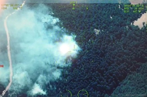 Termal drone ve İHA'lar nokta verdi ekipler anında müdahale etti