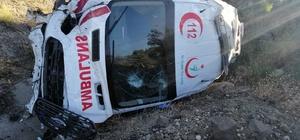 Yozgat'ta ambulans kaza yaptı: 3 yaralı