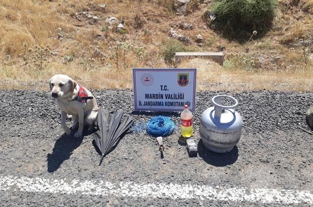 Hainler bayramı kana bulayacaktı Mardin'de jandarma ekipleri yola tuzaklanan EYP'yi imha etti