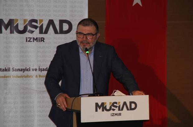 MÜSİAD İzmir'de bayramlaşma merasimi