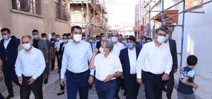 """Bakan Kurum Akşehir'de incelemelerde bulundu Çevre ve Şehircilik Bakanı Murat Kurum: """"Nasreddin Hoca'ya yakışır ve bizim ecdadımızın atalarımızın bize bıraktığı emanetlere sahip çıkacak anlayışla bir proje yürütüyoruz"""""""