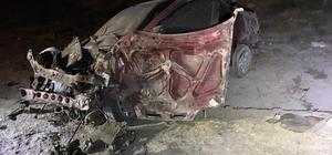 Lastiği patlayan otomobil takla attı: 1 ölü, 4 yaralı
