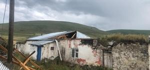 Sel, hortum Ardahan'da hayatı felç etti Tarım arazileri zarar gördü