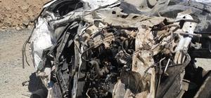 Yüksekova'da araç uçuruma yuvarlandı: 6 ölü Yaralı askeri helikopterle hastaneye kaldırıldı