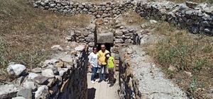 Alacahöyük'e bayramda ziyaretçi akını