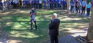 Başkan Öztürk personeliyle bayramlaştı