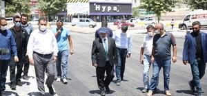 Cemil Baba Caddesi yenileniyor